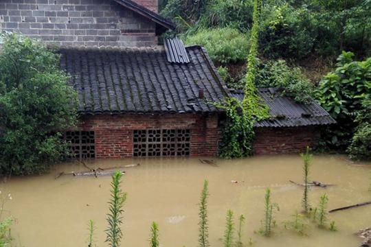 柳州融水遭强降雨袭击