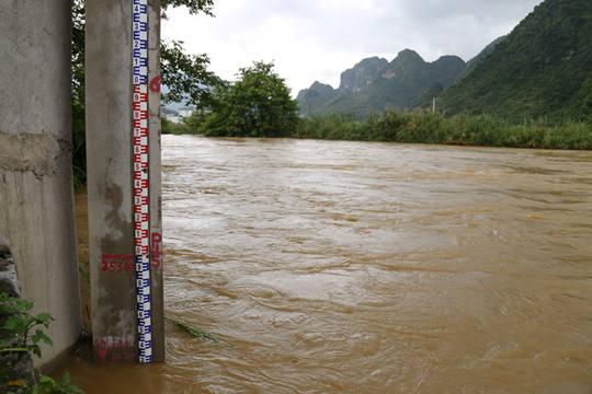 巴马盘阳河水位告急