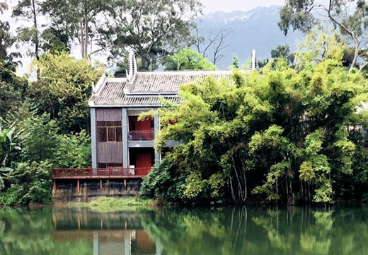 桂平西山水库景美如画