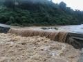 贺州暴雨多条乡道被淹