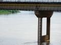 中国天气网广西站讯 据梧州市防汛抗旱指挥部消息,受上游来水影响,广西梧州市浔江、西江等主要江河水位持续上涨。7月10日21时,西江梧州水文站水位18.54米(警戒水位18.5米),超警戒水位0.04米,预计西江梧州站将于7月12日上午出现超警戒水位1.3米左右的洪水。图为10日16时梧州水位。(文/陈嘉谊 图/梁妙芝)