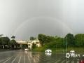 中国天气网广西站讯 今天(20日)傍晚时分,一场狂风暴雨过后,南宁的上空出现了两道彩虹,蔚为壮观。(文/周玉 图/陈设广)