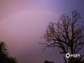 中国天气网广西站讯 今天(20日)傍晚时分,一场狂风暴雨过后,南宁的上空出现了两道彩虹,蔚为壮观。(文/周玉 图/王超球)