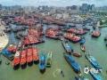 中国天气网广西站讯 8月16日,广西为期3个半月的休渔期结束。当天,北海渔民们在侨港镇哨所码头举行了盛大的开海节,之后大量渔船从码头驶出,千舟竞发,场面壮观!蛰伏了三个半月的北海,终于迎来了属于它的喧闹。(图/王行人 文/彭定宇)