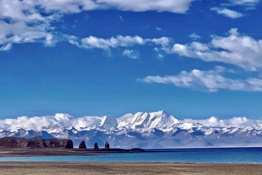 西藏:纳木错的那抹蓝