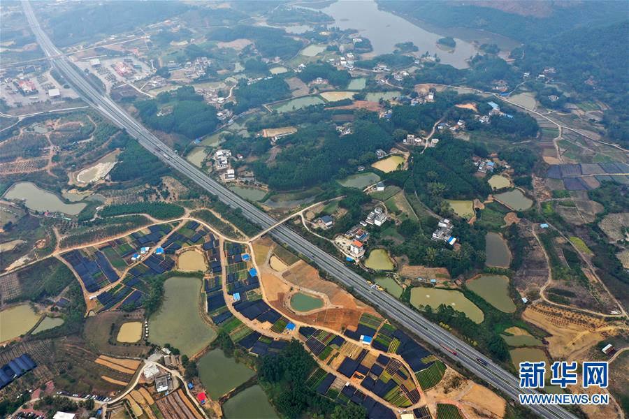 南寧:美麗田園路縱橫