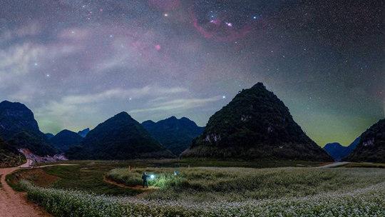 隆安:更望湖秋夜观星