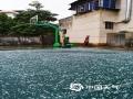 中国天气网广西站讯 1月25日(大年初一)早晨8点40分左右,强对流云团自西南向东北略过武鸣区,并降落下玉米粒大小的冰雹。(文/赖雨薇 图/韦真真)