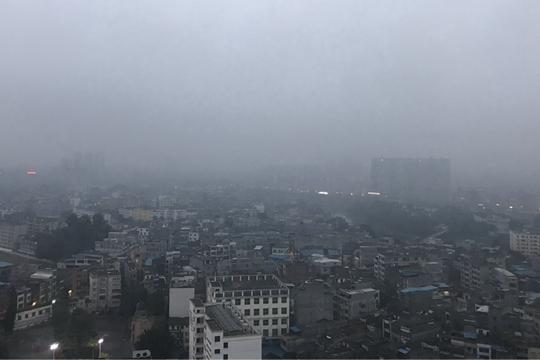 雾锁防城港
