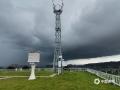 6月2日下午,梧州市区乌云压顶,一场暴风雨即将袭来,闪电、降雨、大风齐驱驾到,像是在上演科幻大片一样。(图/孙小龙 文/邓碧娜)