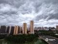 6月3日上午,来宾上空乌云滚滚而来,黑云压城,场面蔚为壮观。(文/苏庆红、图/苏庆红、黄乔靖、郑玮琦)
