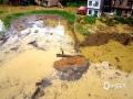 中国天气网广西站讯 9月6日下午到7日早上,河池市金城江区、环江县、罗城县、宜州区普降暴雨到大暴雨,部分乡镇出现特大暴雨。暴雨导致环江县河水暴涨,农田被淹,多处内涝,学生上学及村民出行受到影响,部分乡镇的房屋受损。图为:环江遭受大暴雨袭击,多个乡镇严重受灾(文/吴雨婧 图/韦家宝)