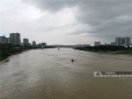 图为湍急的河水。(图/陈丽婕)
