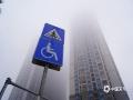 """图为22日早晨,钦州市出现大雾""""锁城""""的景象。(图/李斌喜)"""