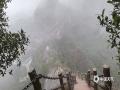 中国天气网广西站讯 2月25日,受冷空气南下影响,绵绵细雨洒落在桂林市资源县八角寨的丹霞地貌里。雨后山川间云雾缭绕,从山顶瞭望,雾气仿佛锁住了山头;在山路间穿梭,雾气又仿佛被锁在山间,这样的景象宛如仙境。(图/林思豆 文/陆小晓)