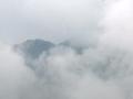 隆林早晨出现大雾天气