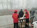 图为廊坊香河气象局工作人员服务疫情防控第一线(图/管林)