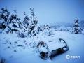 15日白天到16日上午,河北承德迎來一場明顯的降水天氣。其中在氣溫較低的壩上圍場縣,還出現了大范圍降雪。在圍場城區及塞罕壩林場,植被上的積雪已經厚厚一層,降雪量也普遍達小到中雪量級。由于前期氣溫回升氣候干燥,圍場及塞罕壩林區火險等級居高不下,此次降雪有效的增加了空氣濕度,緩解當地防火壓力。圖為塞罕壩林場(圖/司宏坡 孫閣)