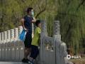 最近兩天,河北承德高溫來襲,1日最高氣溫達36℃。在承德避暑山莊內,今年采取了網上預約購票以及限流措施,五一假期景區內井然有序,游園人數相較往年同期大幅減少,由于天氣炎熱,游客紛紛穿著清涼夏裝,游覽山莊美景。(攝影/李輝)