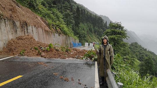 四川宜宾筠连遭遇今年最强暴雨引发次生灾害