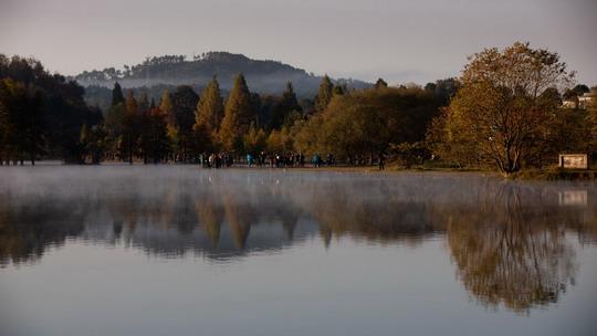 黄山奇墅湖——绝美自然田园风光