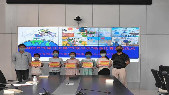 """云南镇康联合小学开展以 """"气候与水""""为主题的网上绘画比赛活动"""