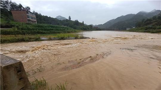 云南文山州广南县遭遇暴雨洪涝灾害袭击