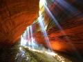 甘泉大峡谷原始风光奇幻瑰丽